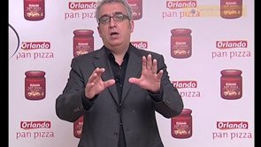 Promo Tomate Orlando Pizza, lanzamiento con Leo Harlem