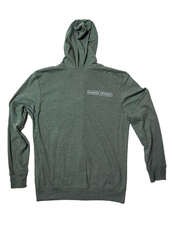glbal hoodie back