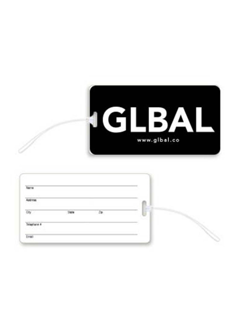 glbal luggage tag