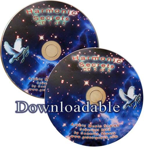Harmonic Secrets CDs