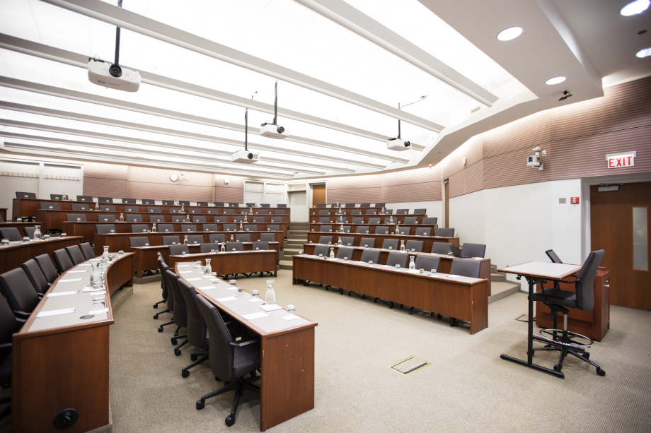 Large Tiered Meeting Room  The University of Chicago