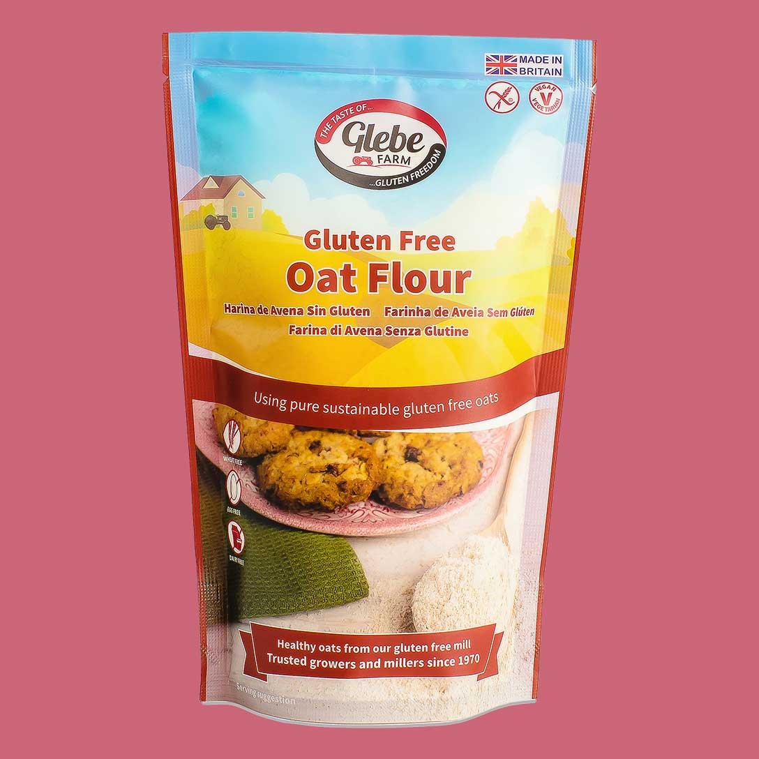 Glebe Farm Gluten Free Oat Flour 300g - Glebe Farm