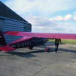 Flying around Glebe Farm (2)