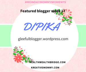 Featured Blogger #MMM
