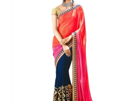 Party Wear Designer Sarees – Indian Fusion Fashion