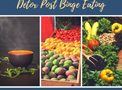 5 Ways to Detox Post Festival Binge Eating