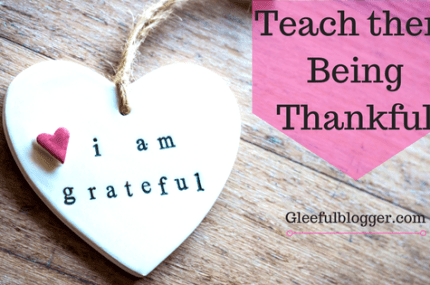Teach kids Gratitude and real joy of Being Thankful