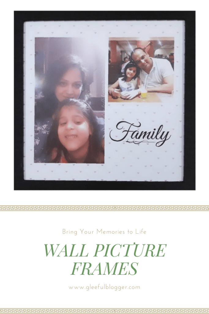 childhood memories wall picture frame