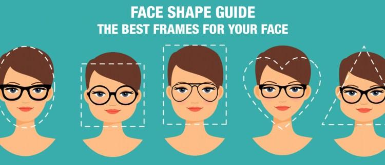 face shape glasses