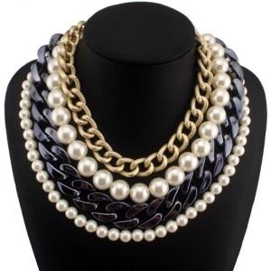 statement jewellery beads necklace