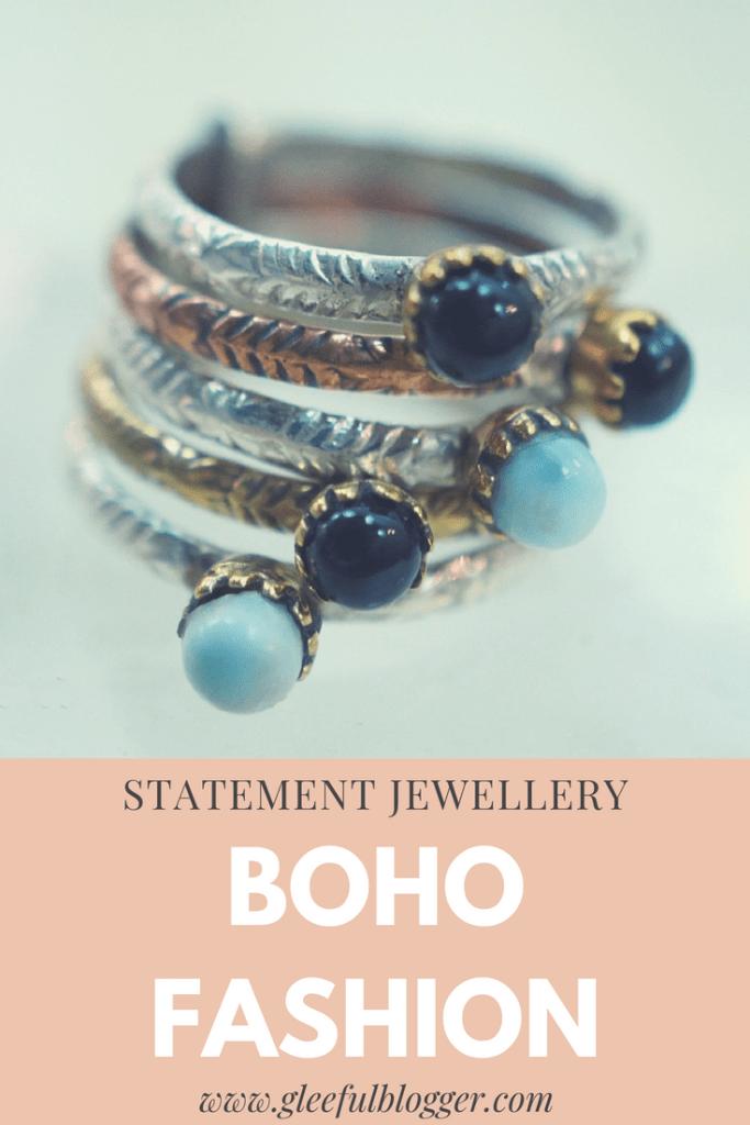 Boho Fashion  statement jewellery