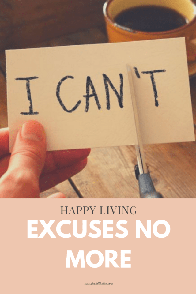 why do we make excuses