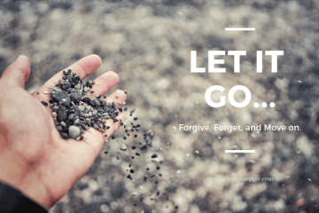 Letting go for happy living