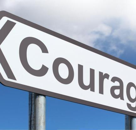 mt happiness mantra - courage to be happy
