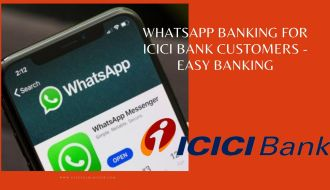 whatsapp banking ICICI bank