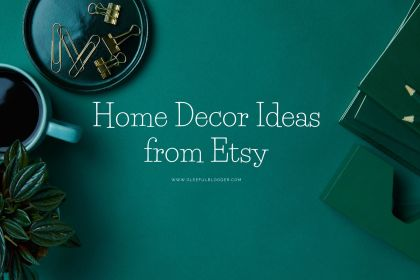 Etsy home decor