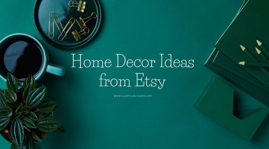 Etsy home decor