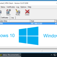 5 Steps to make Cisco VPN Client work in Windows 10