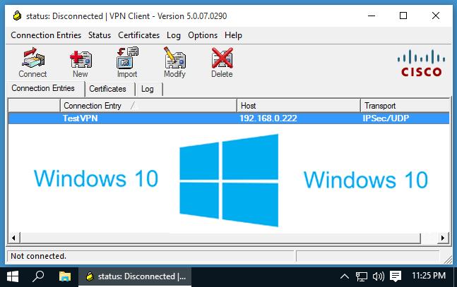 cisco vpn client windows 10 download free