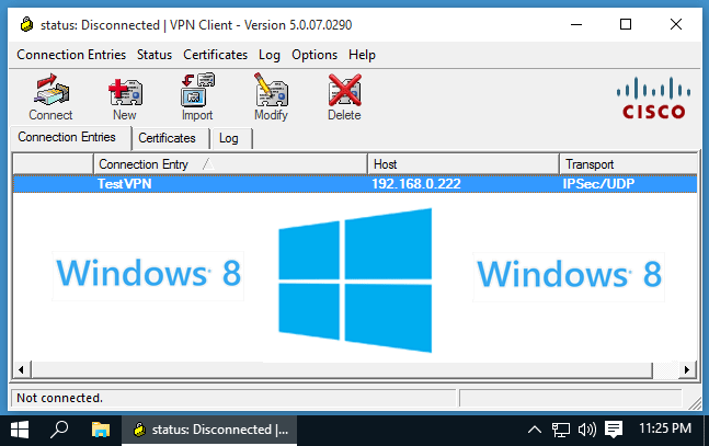 windows 8 vpn client