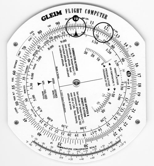 Gleim Aviation: Flight Computer Instructions