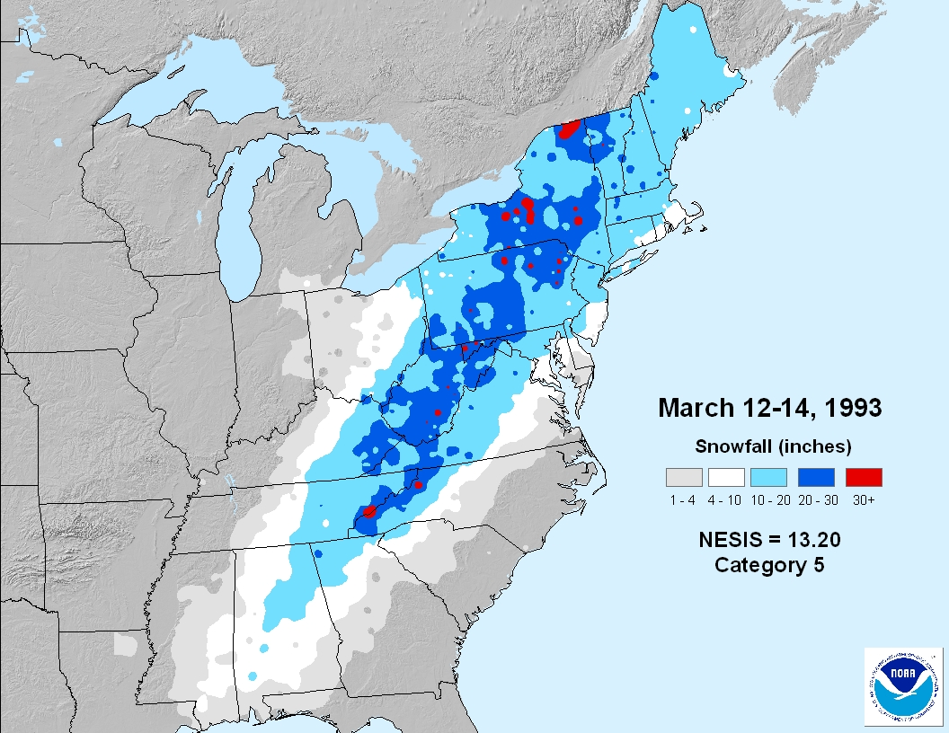 March Weather History