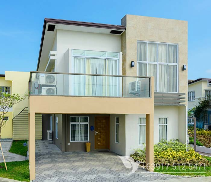 Briana House Model Of Glenbrook At Lancaster New City Cavite Philippines