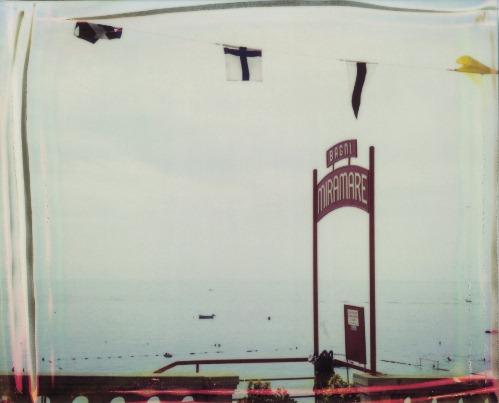 Una polaroid di Maurizio Galimberti