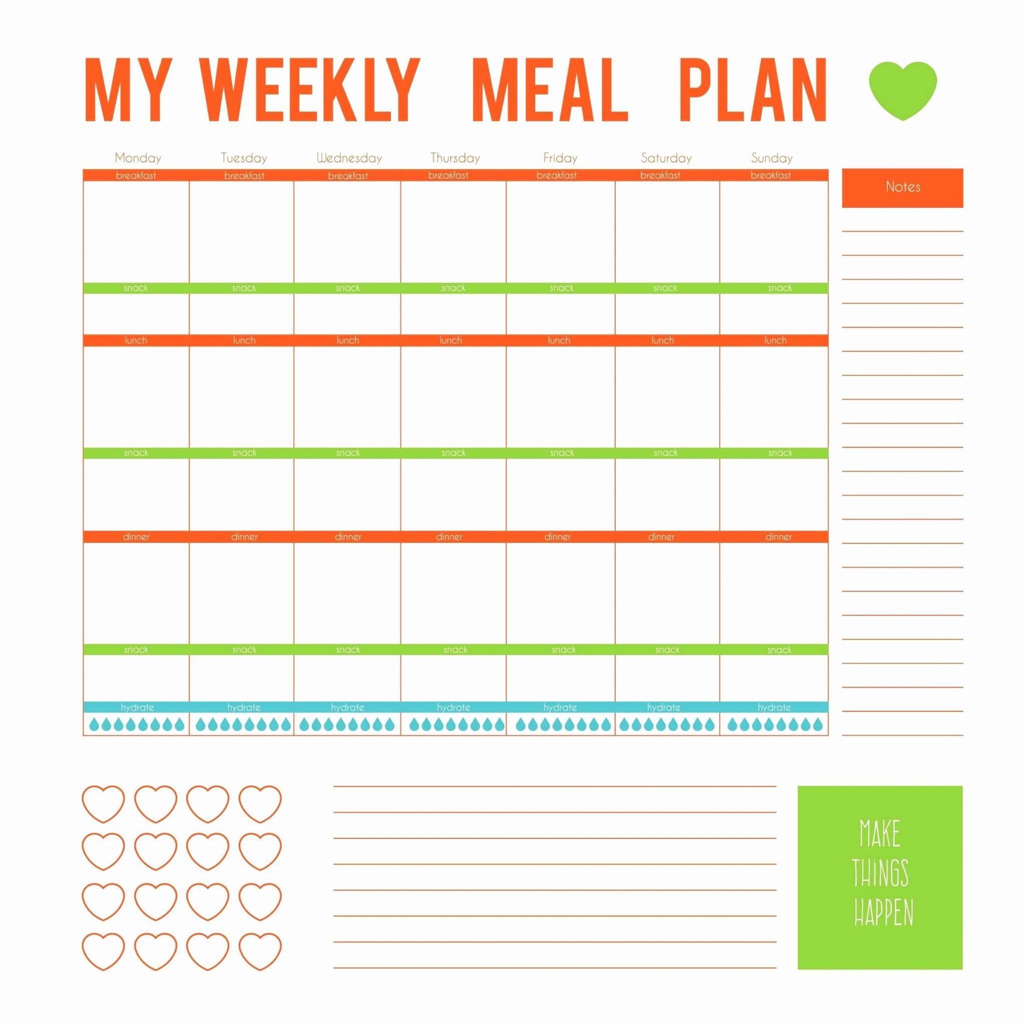 Fast Metabolismt Meal Plan Spreadsheet