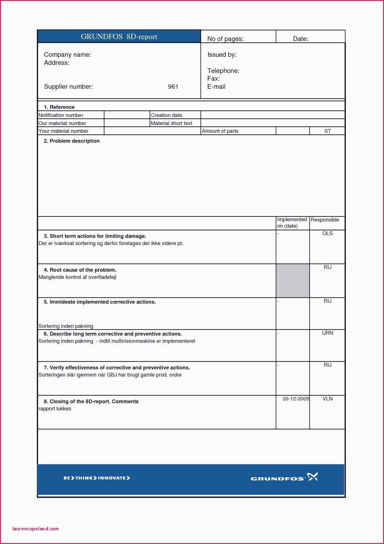 Printables Of Hazop Worksheet Template