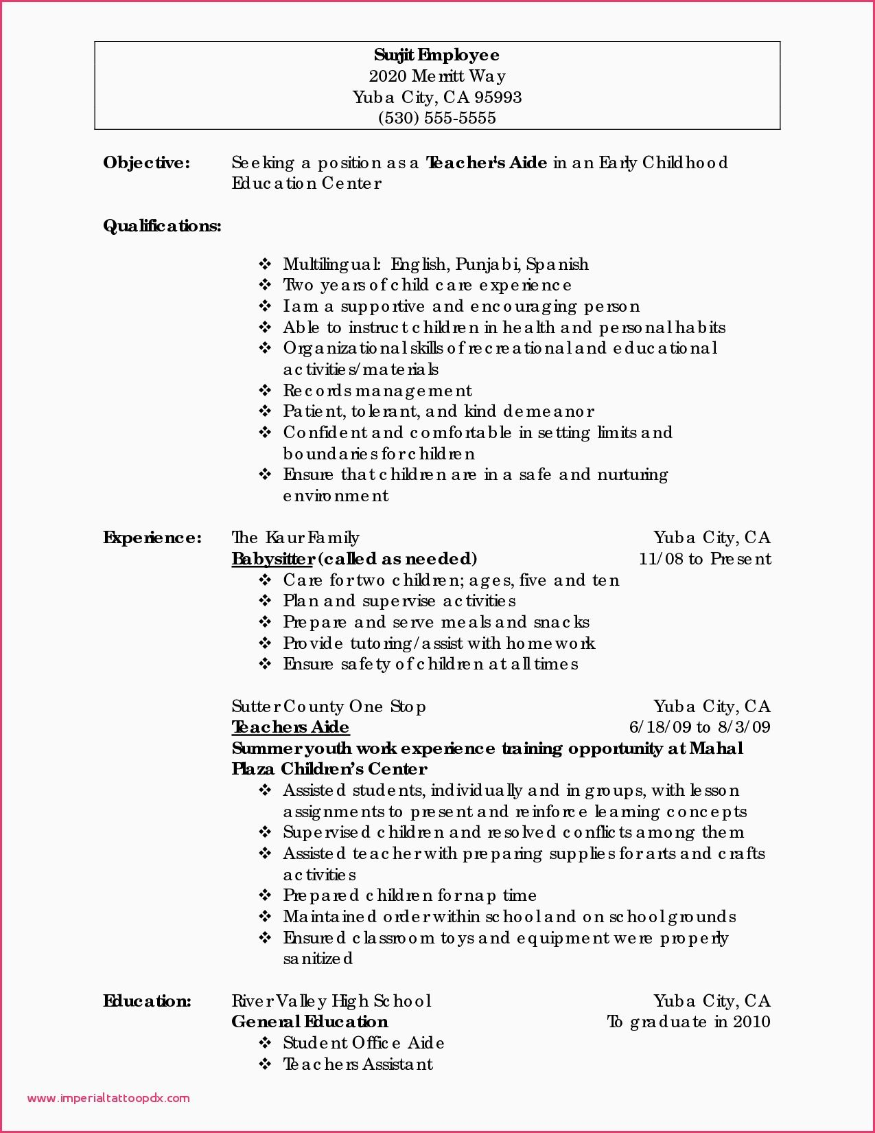 Preschool Classroom Observation Report Example