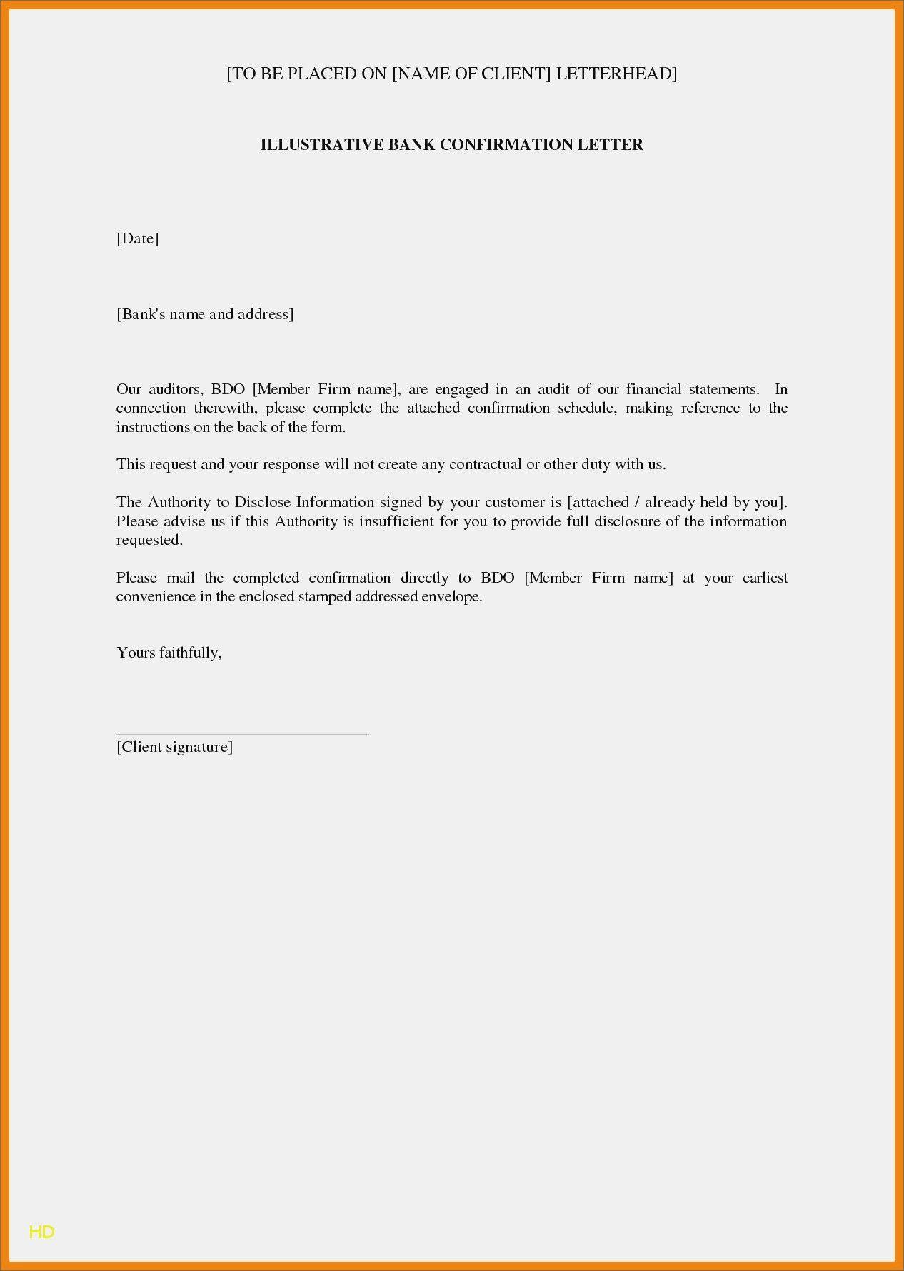Bank Details Letterhead