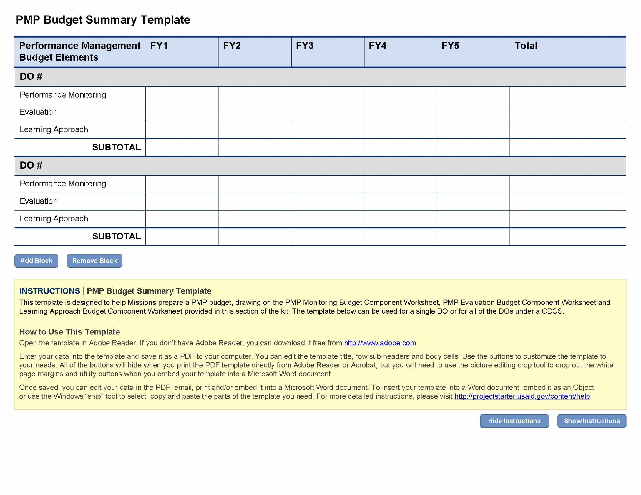 Turnover Calculation Spreadsheet