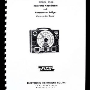 EICO Model 1025 Solid State Power Supply Instruction