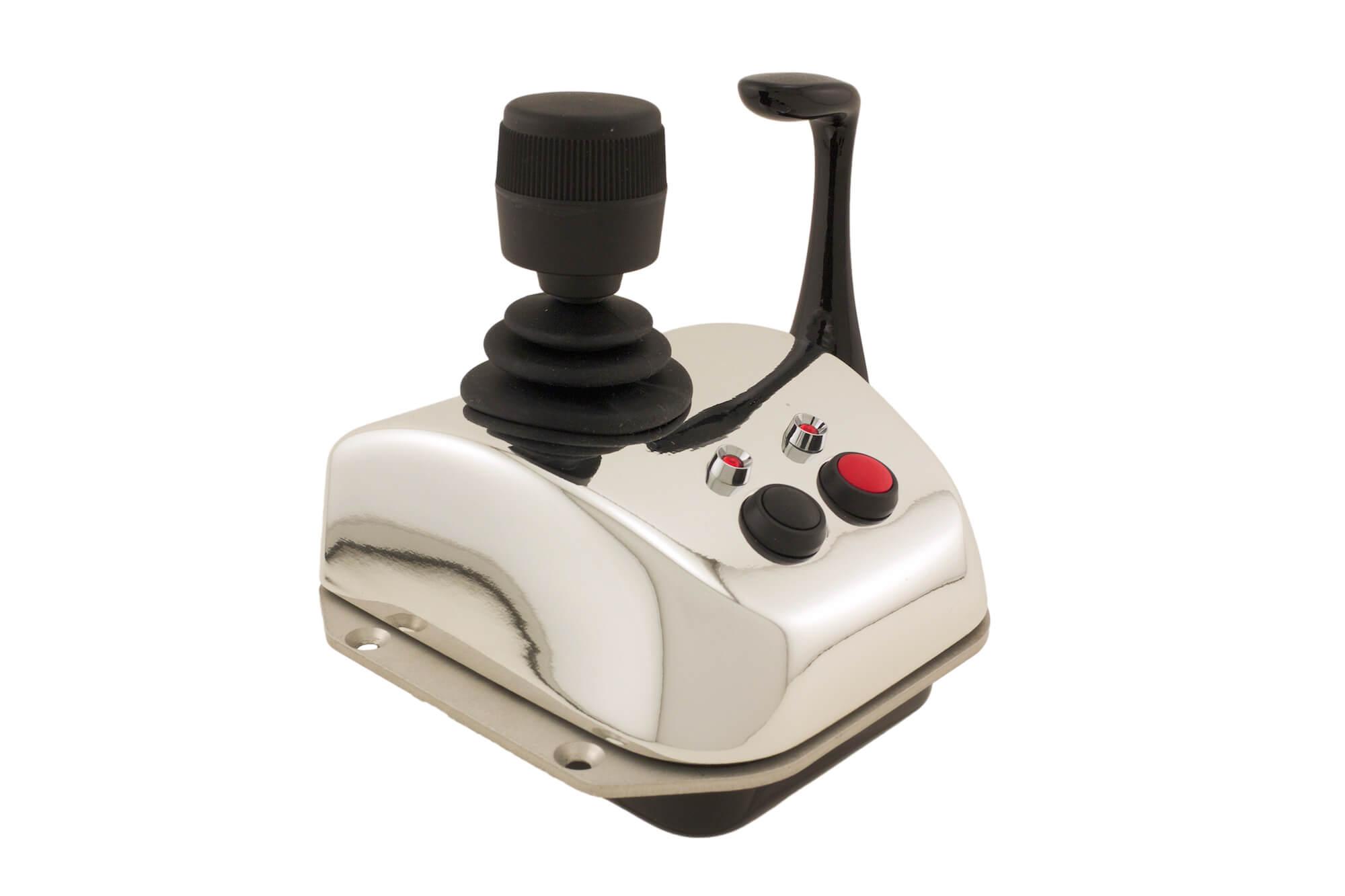 hight resolution of propilot s joystick