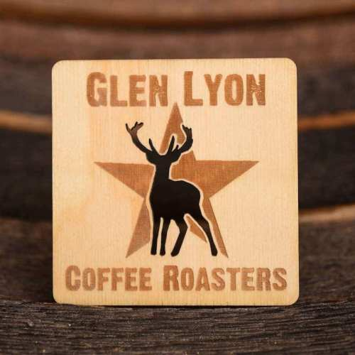 Glen Lyon Coffee coaster