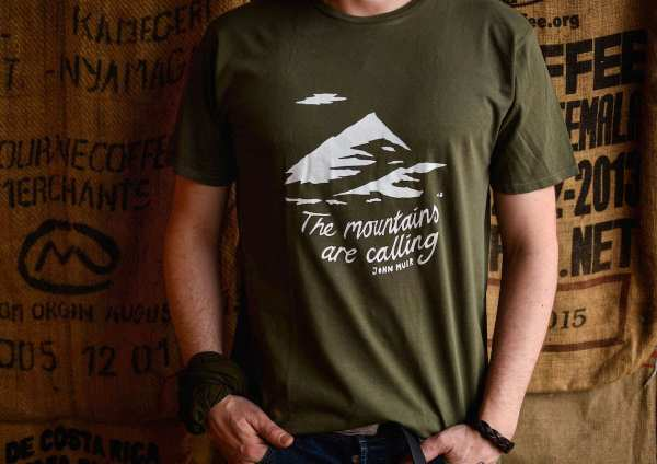 'The Mountains Are Calling' T-Shirt