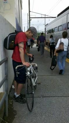 Modes of transport.