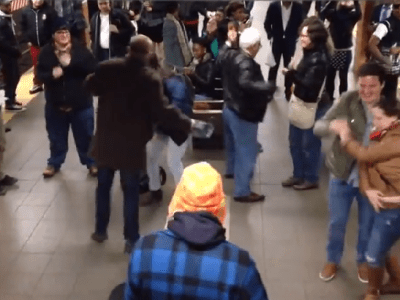 Subway Dance Party, NYC