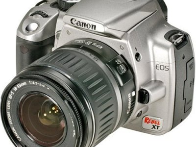 Canon Rebel XT DSLR Camera