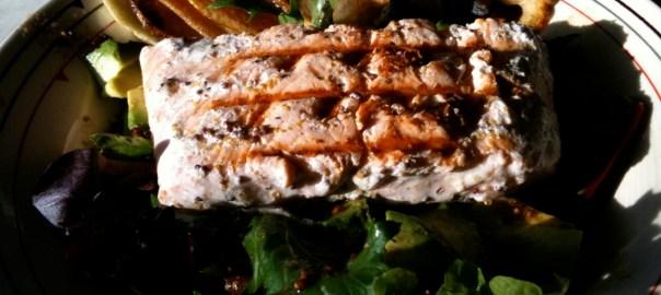 Mustard & Cream Salmon