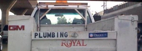 plumbers truck