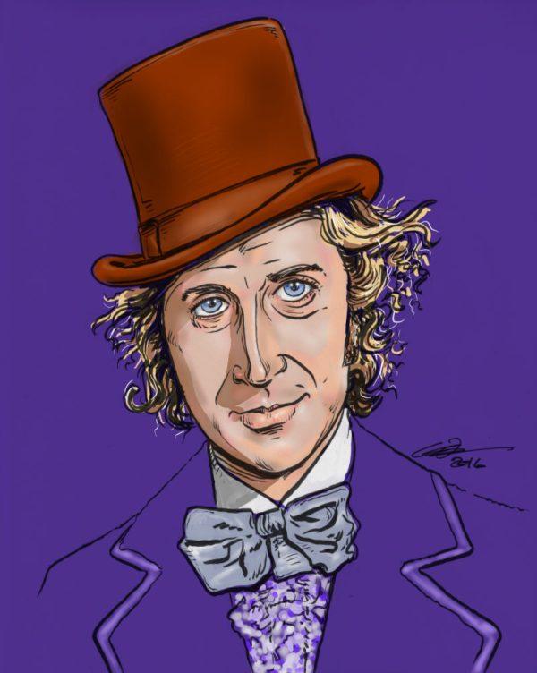 Willy Wonka Glenn Hughes Art & Illustration
