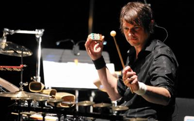 Wilco drummer Glenn Kotche's extravagant 'Wild Sound' a spectacle at the MCA