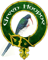 Green Hoopoe badge