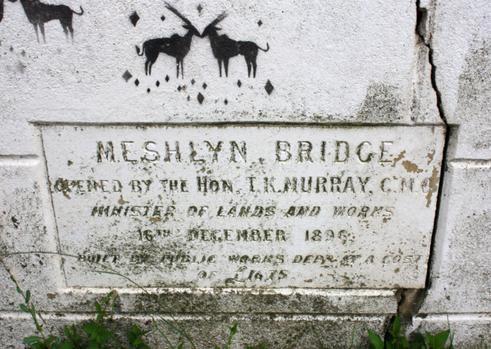 Photograph of Meshlyn Bridge