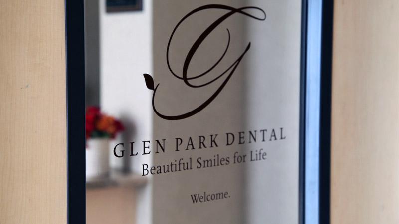 Glen Park Dental Entrance