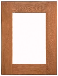 Galloway Oak Small Wall Mirror - GlenRoss Furniture