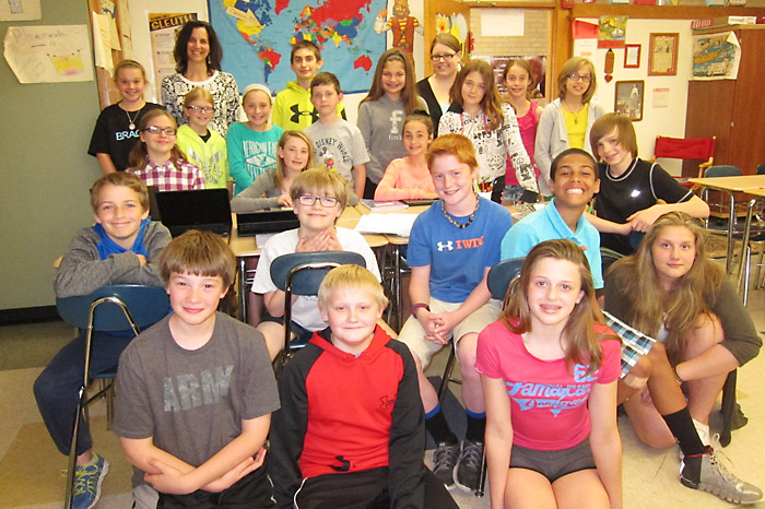 Image result for middle school kids in class room pictures