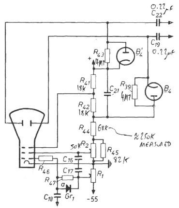 Philips GM5650 oscilloscope repair